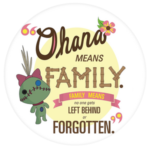 Disney Quote Pop-Grip: Ohana 2 Lilo and Stitch Pop-Grip