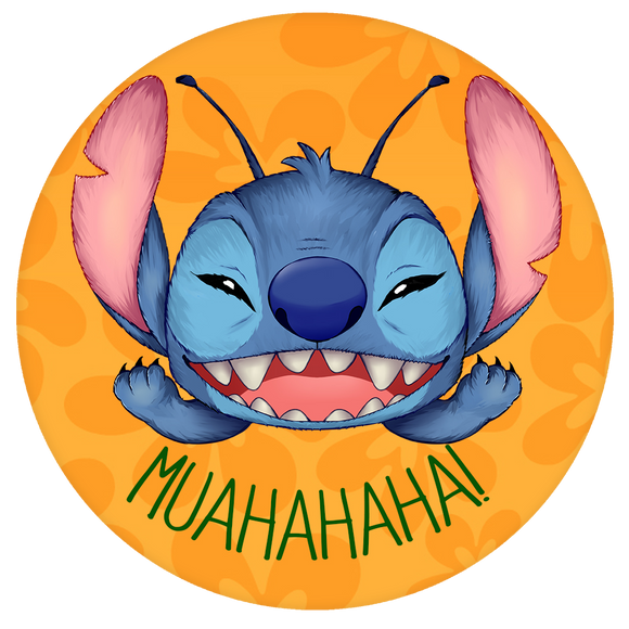 Disney Pop-Grip: Stitch Pop-Grip Evil Laugh