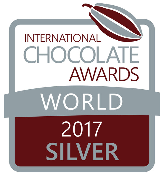 International Chocolate Awards, World Finals - SILVER!