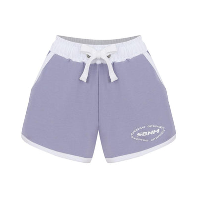 Everyday Optimism Purple Short