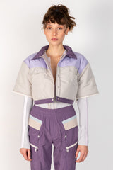PURPLE STONE JACKET