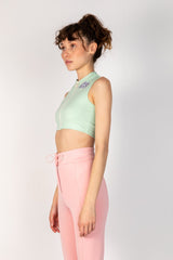 RETRO MINT TOP