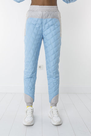 Snow of sky padded trousers