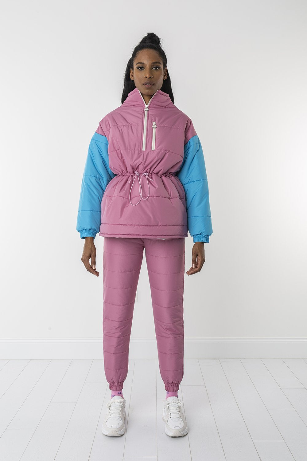 Bubblegum padded sweater
