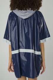 """Wear the ocean"" raincoat"