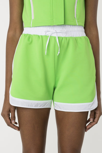 Palm tree scuba short