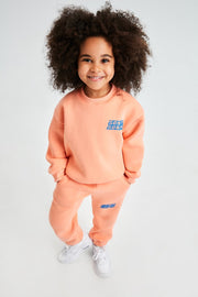 Just Peach Kids Sweatshirt