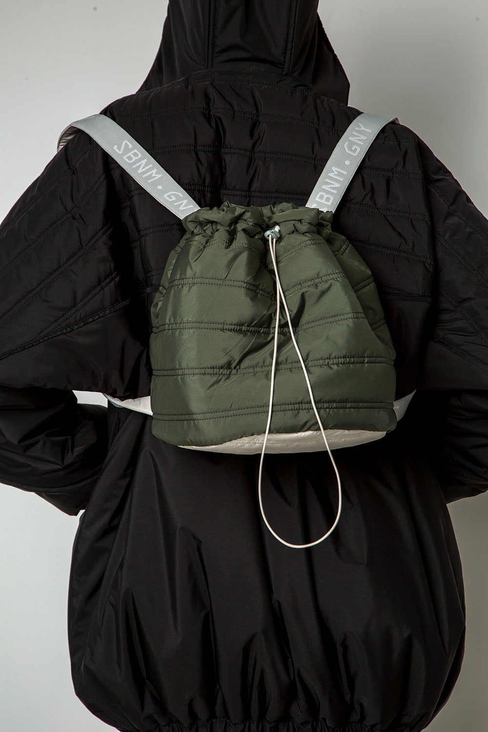 ''This bag is made for jogging'' backpack