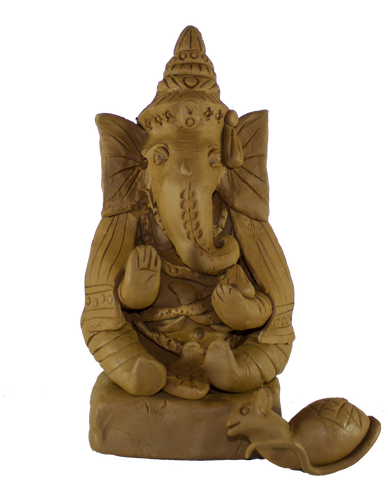 Eco-friendly Clay Ganesha