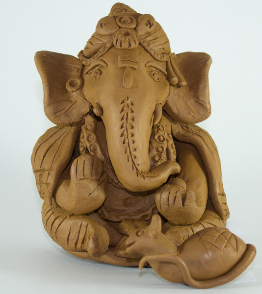 Eco-Friendly Clay Ganesha Workshop on Sept 9 - 10am to 12pm