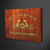 Canvas For Family Family Wooden Customized Wall Decor