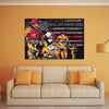 Canvas For Firefighter Firefighter Real Life Super Hero