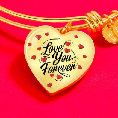 "Couple Bracelet ""Love You Forever"" Couple Bracelets"