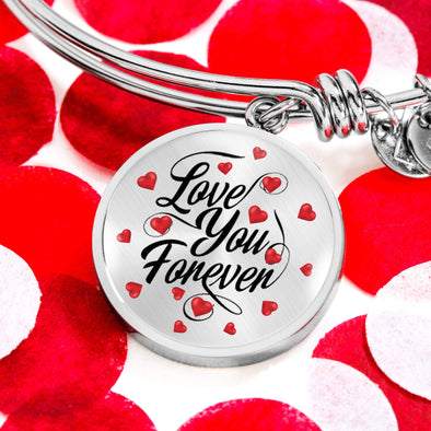 Couple Bracelet Love You Forever Couple Valentine Gift