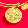 Jewelry Pet Memorial Gold Bracelet