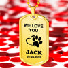 Jewelry We Love You Pet Necklace