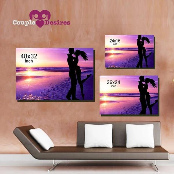 Love Canvas Love You Always Wall Art For Bedroom
