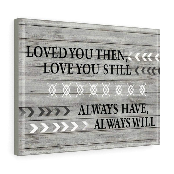 "Love Canvas 48"" x 32"" Love You Always Wall Art For Bedroom"