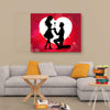 Love Canvas Lovely Couple Wall Art