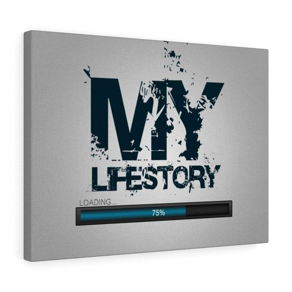 "Love Canvas 36"" x 24"" -BEST SELLER ""My Life Story"" Creative Wall Art"