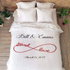 Personalized Blanket Eternal Love Couples Blanket
