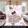"Personalized Blanket Perfect Gift For Your Love ""Personalized Photo Blanket"""