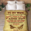 "Personalized Blanket ""You Are My Strength & My Soulmate"" Personalized Blanket"