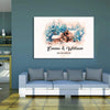 Personalized Canvas Customized Couple Sweet Home Canvas