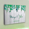 Personalized Canvas Fresh Love Custom Canvas Wall Art - Exclusively Made