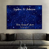 Personalized Canvas Stars Are Images Of Love