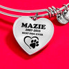 Pet Lover Heart Shape Bracelet For Pet Lover