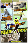 Deeney Goal vs Leicester Heavy Cotton T-Shirt GENTS - Ashby Saint Eve