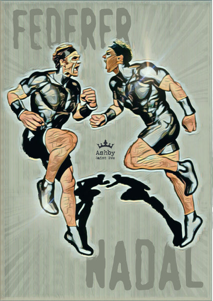 Federer v Nadal Superhero Clash - Ashby Saint Eve