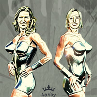 Graf v Navratilova Superhero Clash - Ashby Saint Eve