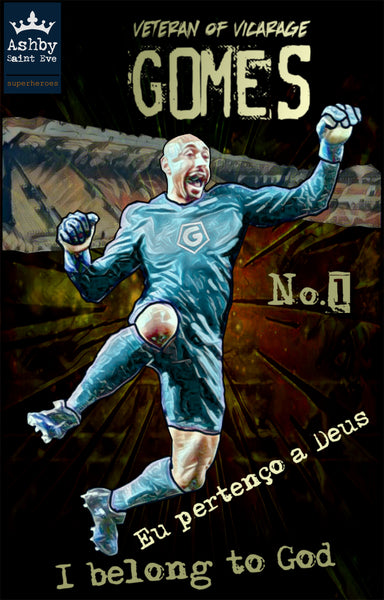 Superhero Heurelho Gomes Watford Gents (up to 5xl) - Ashby Saint Eve