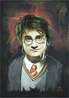 Harry Potter Portrait Poster (A2, A3, A4) - Ashby Saint Eve