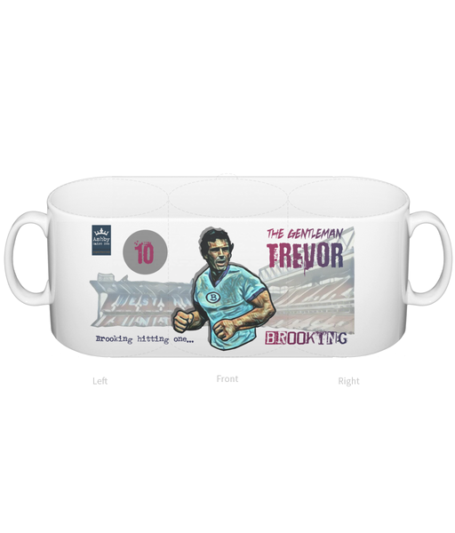 Superhero Trevor Brooking West Ham Mug - Ashby Saint Eve
