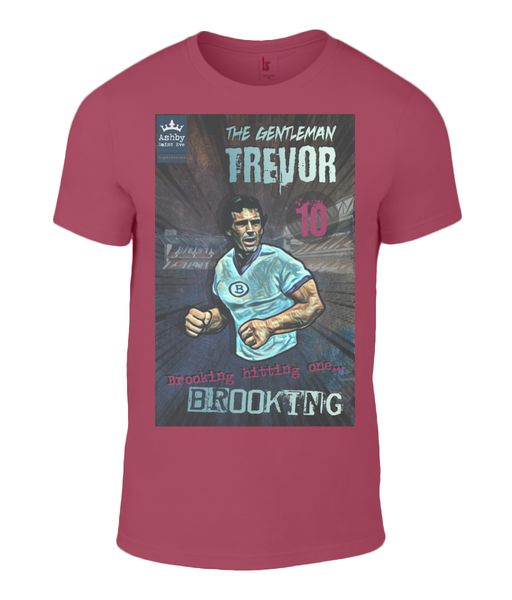 Superhero Trevor Brooking West Ham Premium T-Shirt - Ashby Saint Eve