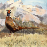 pheasant countryside cushion home