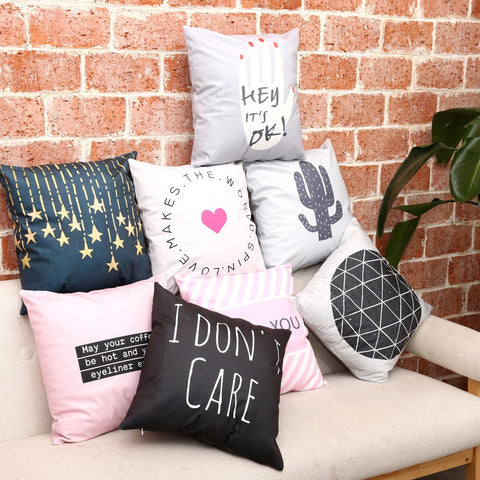 Millenials Collection - Sofa Pillows Shop