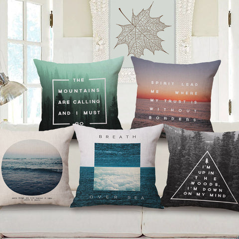 World Is Beautiful - Sofa Pillows Shop