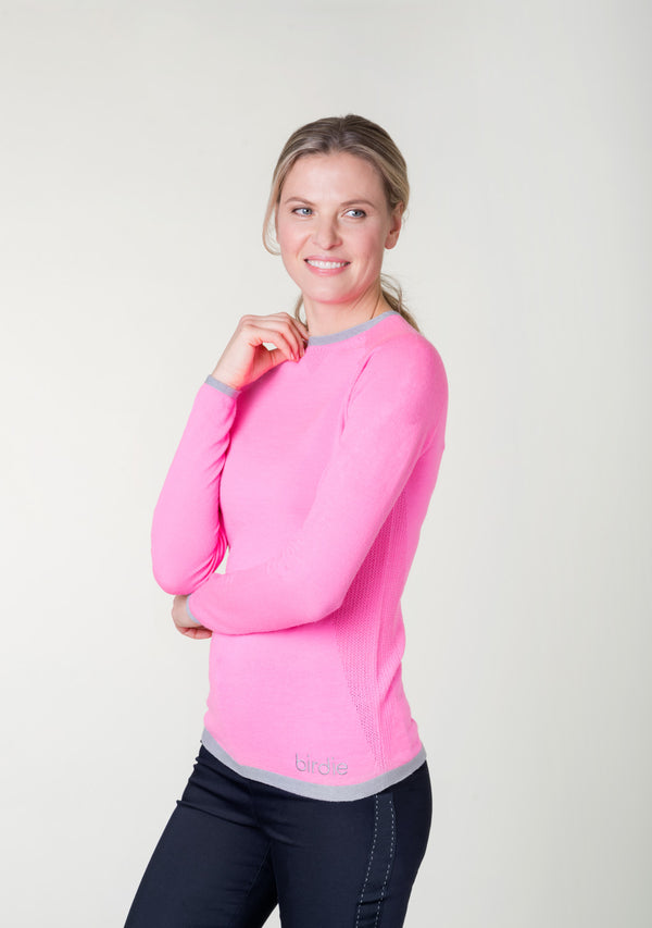 Ladies Under-Birdie base layer in pink