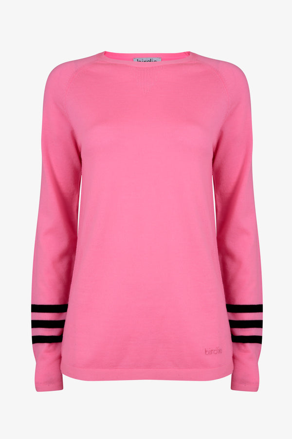 Ladies Under-Birdie base layer in pink & black