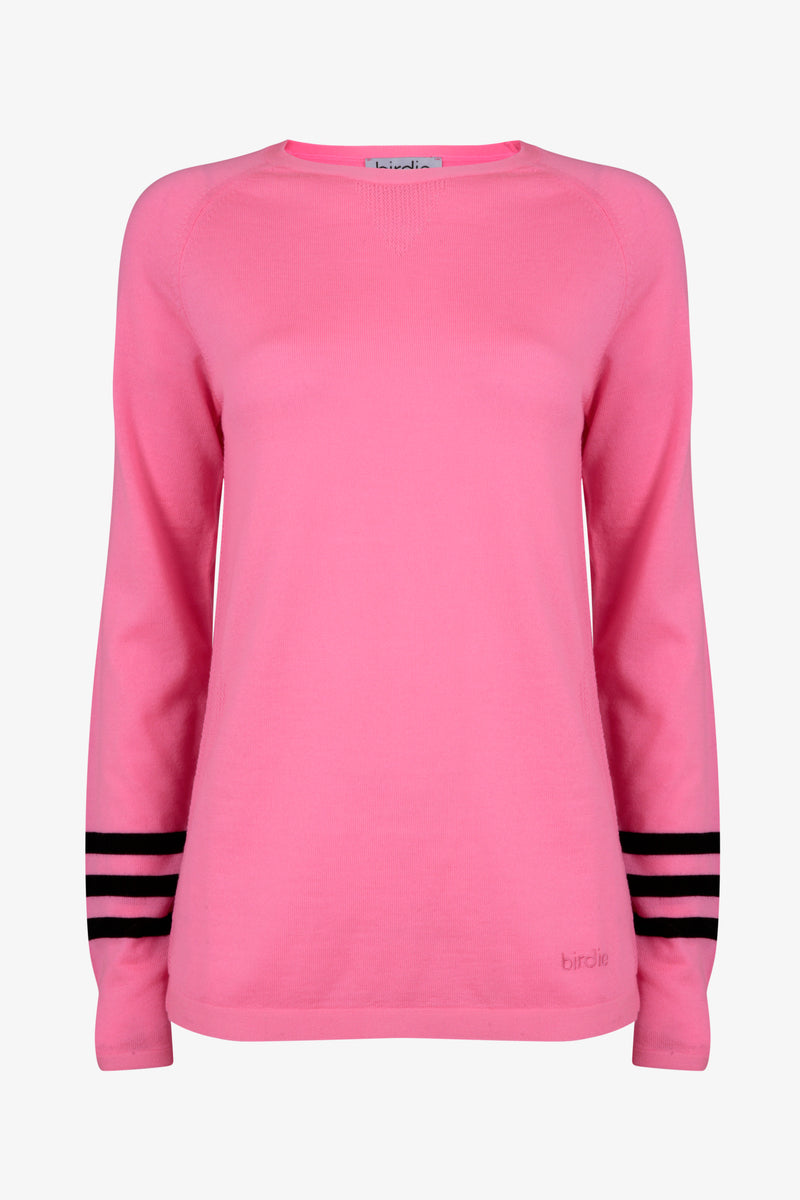 Under-Birdie base layer in pink & black