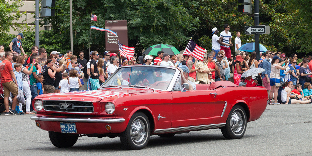 Patriotic Parades Around the Country