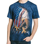 Men's Eagle Freedom Flag T-Shirt