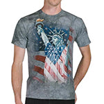 Men's Defending Liberty Flag T-Shirt