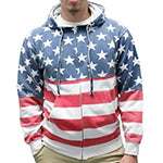 Stars &  Stripes Hoodie - Full Zip