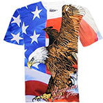Bald Eagle America Flies Free T-shirt
