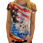 Eagle Constitution American Flag Shirt